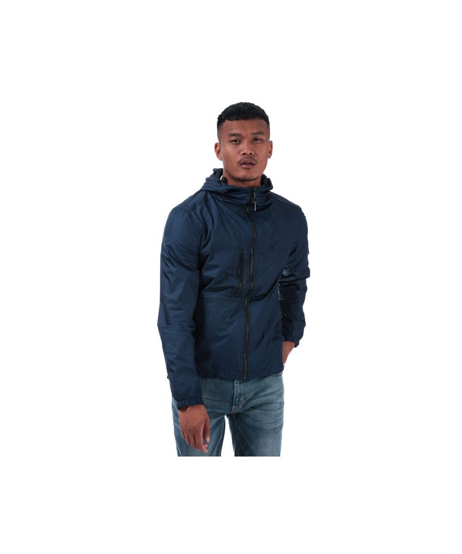 Image for Men's Duck and Cover Goodman Lightweight Jacket in Navy