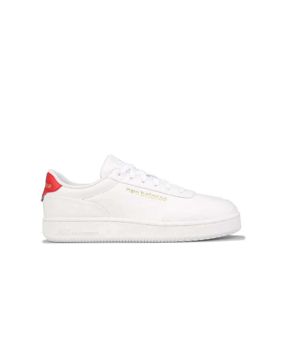 Image for Men's New Balance CT Alley Trainers in White