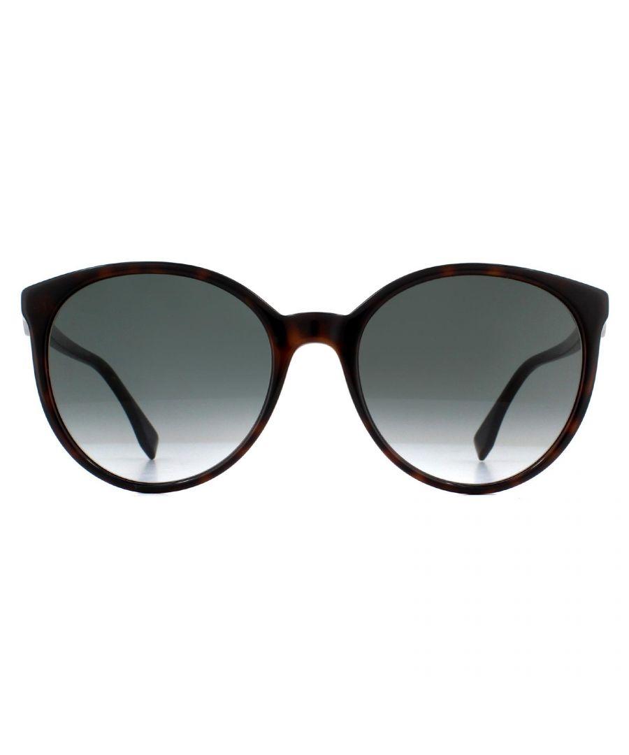 Image for Fendi Sunglasses FF 0288/S 086 9O Dark Havana Grey Gradient
