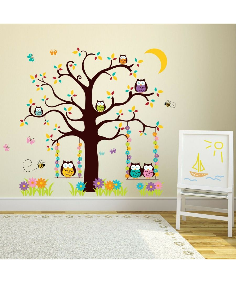 Image for Wall Art -Owl Tree 2
