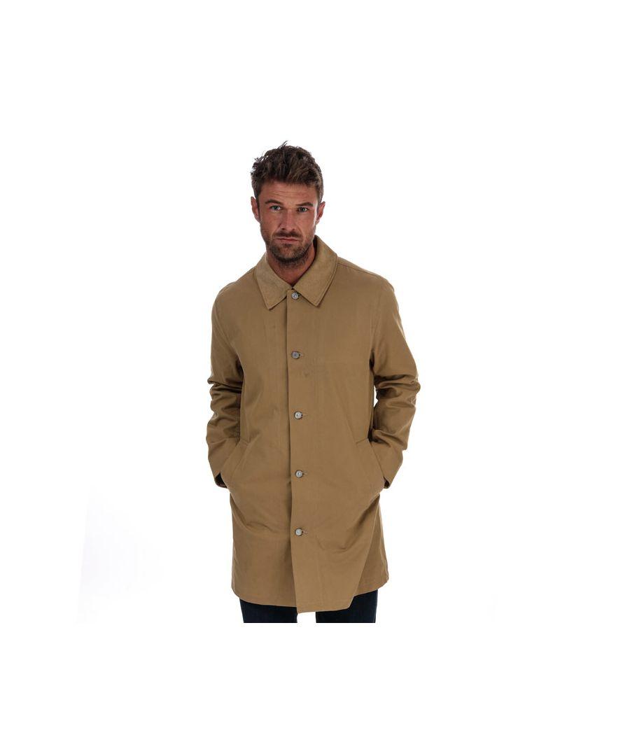 Image for Men's Levi's Long Utility Coat In Gold