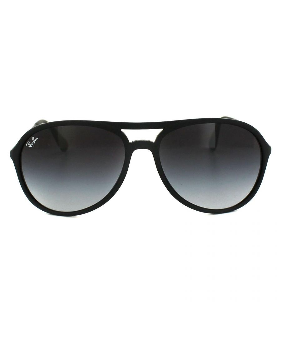 Image for Ray-Ban Sunglasses Alex 4201 622/8G Rubber Black Grey Gradient