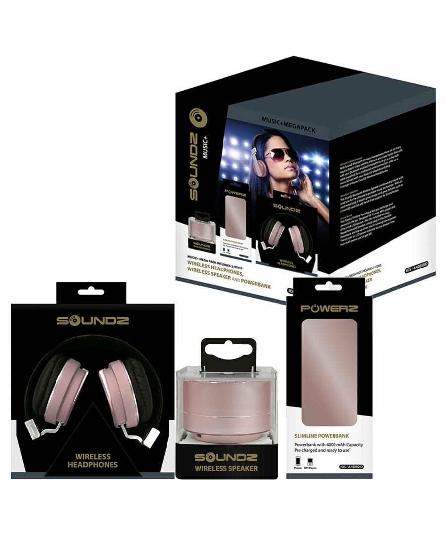 Image for Soundz Audio Bundle Set Rose Gold