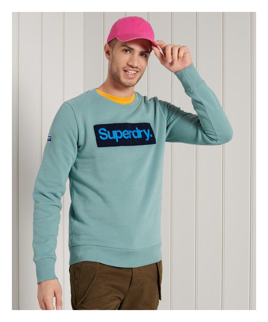 Image for Superdry Core Logo Workwear Crew Sweatshirt