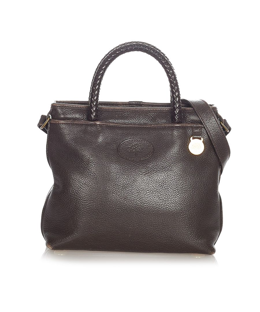 Image for Vintage Mulberry Leather Satchel Brown