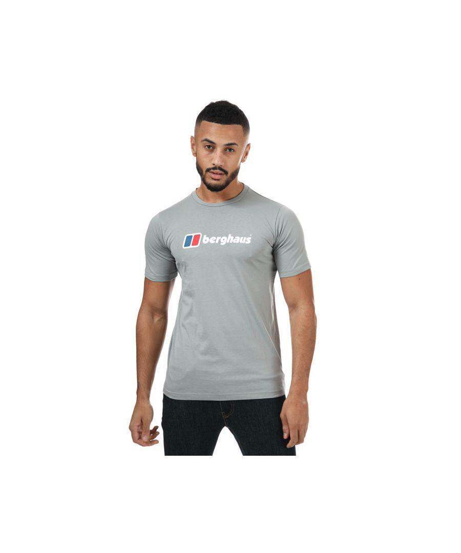 Image for Men's Berghaus Large Logo T-Shirt in Grey