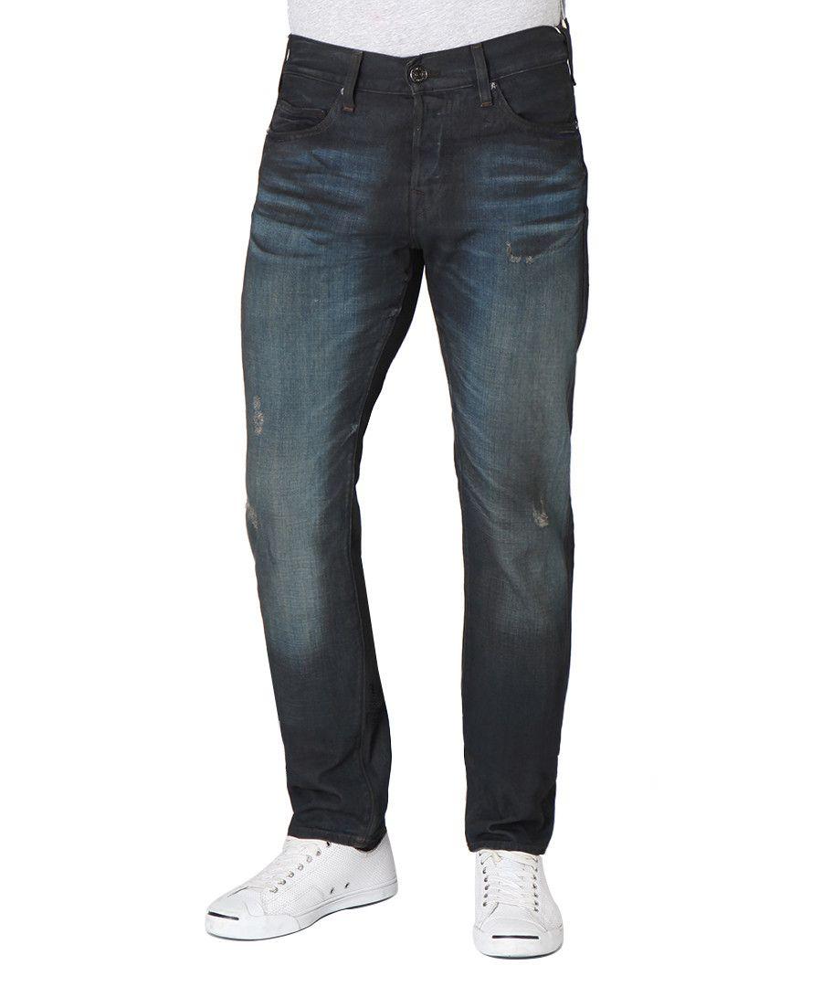 Image for True Religion Dean Slim DK Green Jeans