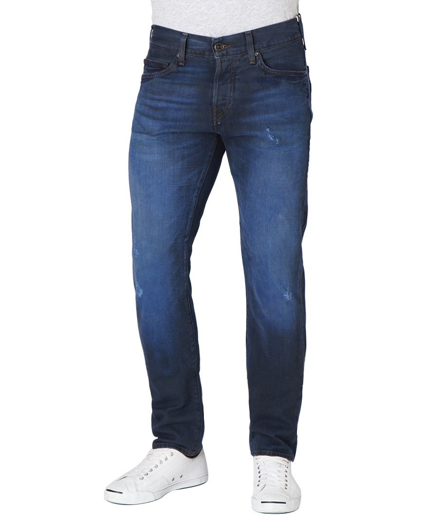 Image for True Religion Dean Slim Blue Jeans