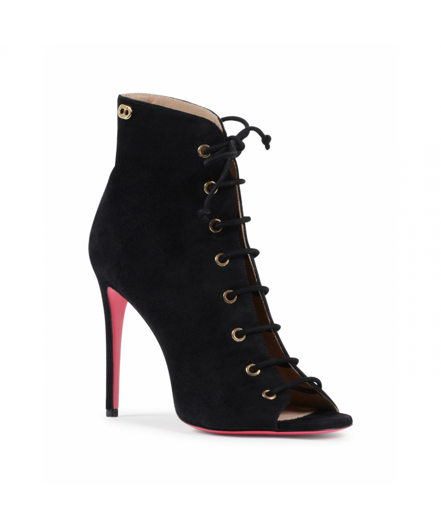 Image for Dee Ocleppo Women's Ankle Boot Black 5121111 CAMOSCIO NERO