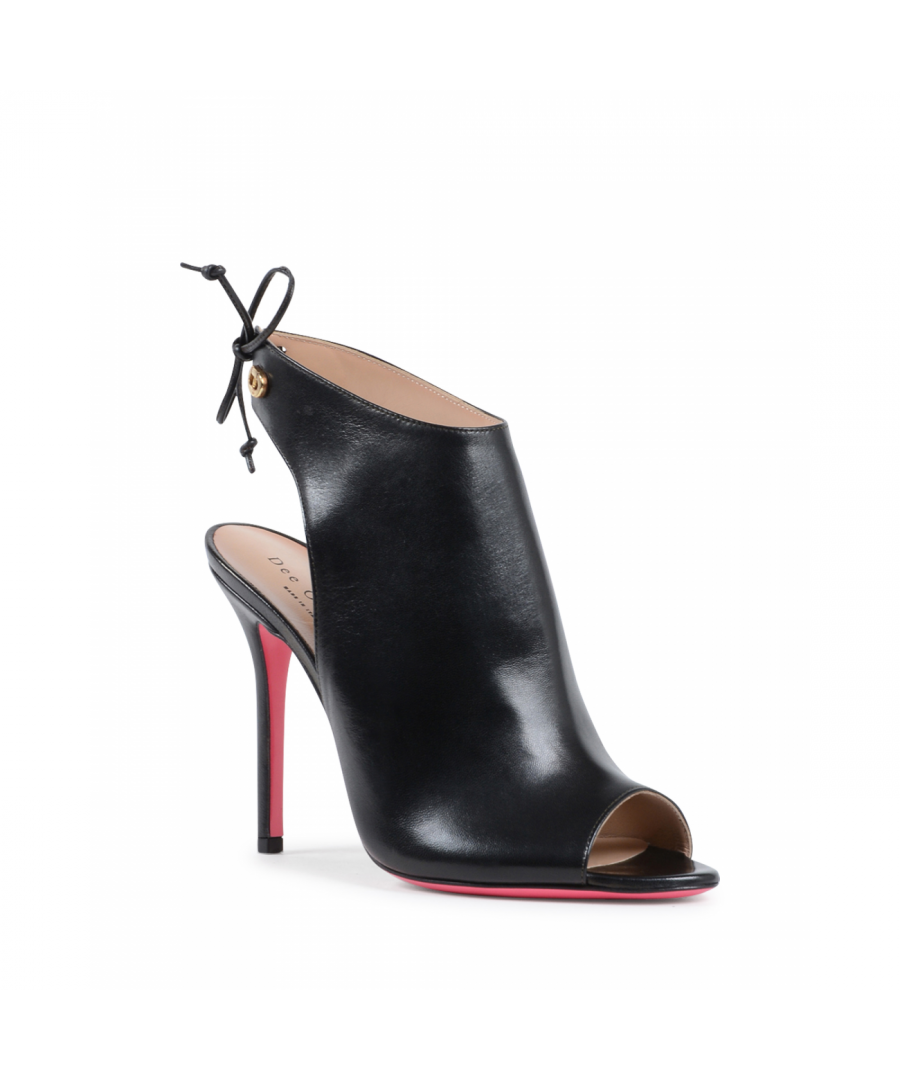 Image for Dee Ocleppo Women's Ankle Boot Black OC3404 NAPPA NERO