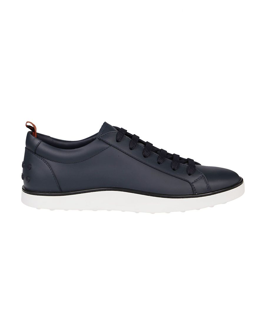Image for TOD'S MEN'S XXM52B0CM50JUSU802 BLUE LEATHER SNEAKERS