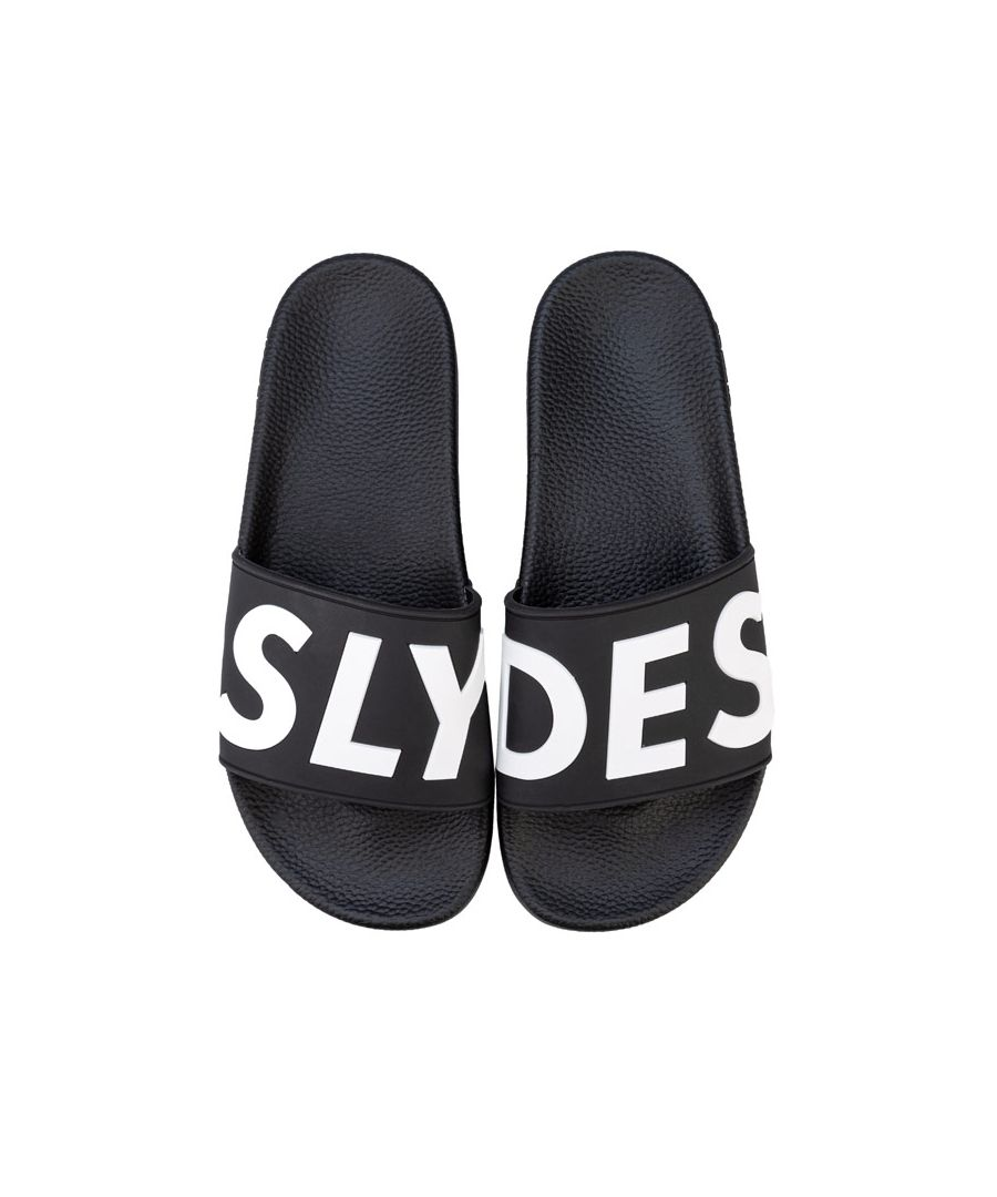 Image for Women's Slydes Deflect Slide Sandals in Black-White