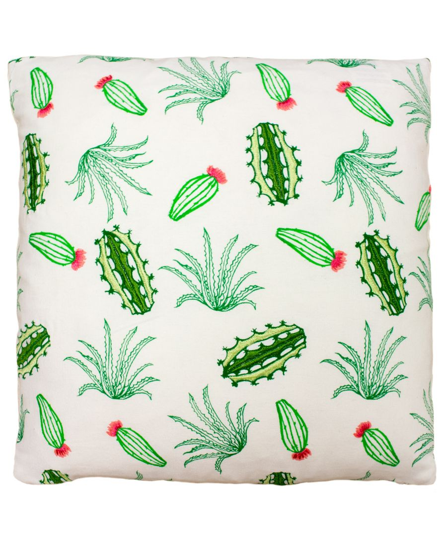 Image for Desert Cactus 45X45 PCushion Gre/Co