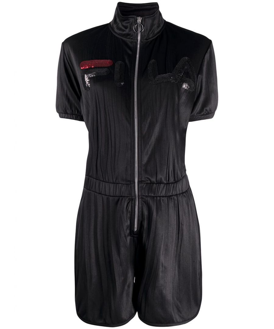 Image for FILA  WOMEN'S 684649002 BLACK POLYESTER JUMPSUIT