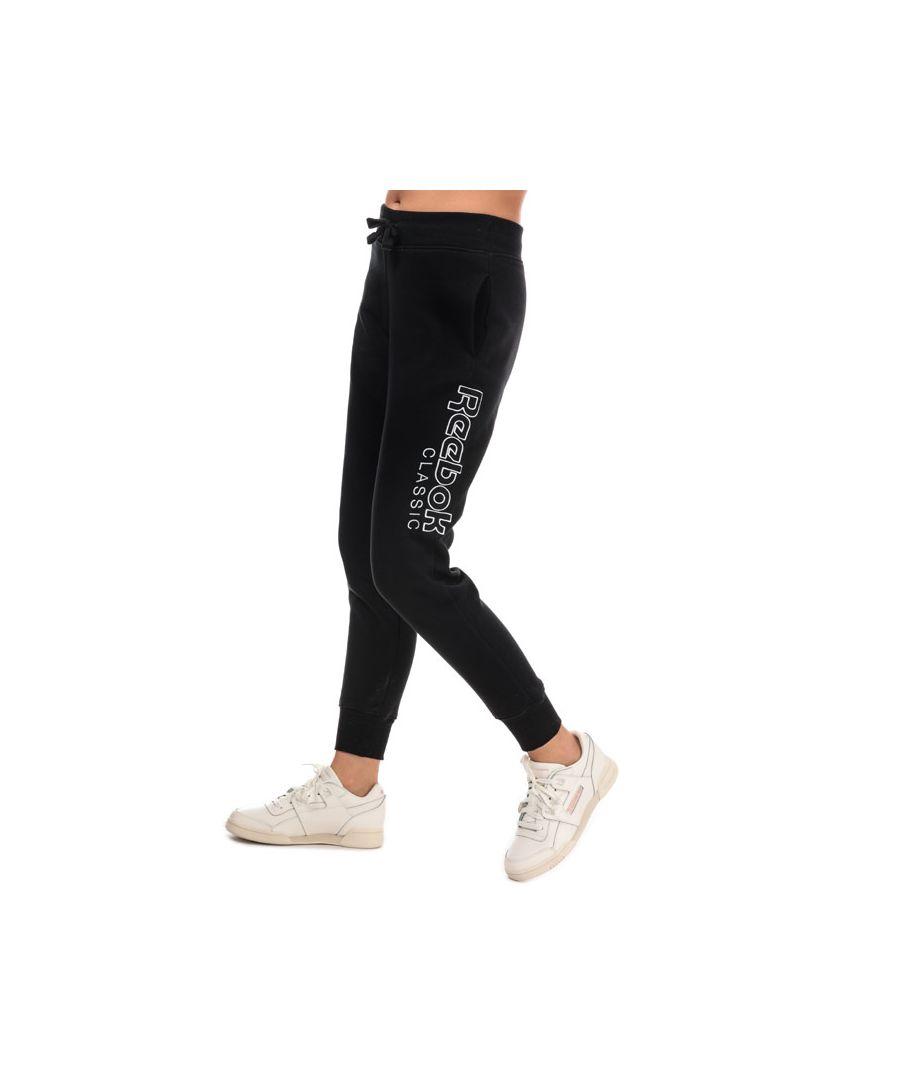 Image for Women's Reebok Classics Classics Graphic Pants in Black