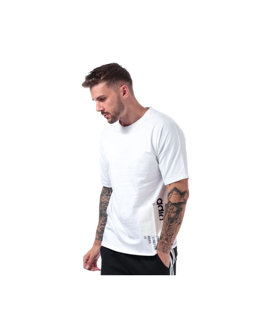 Image for Men's adidas Originals NMD T-Shirt in White