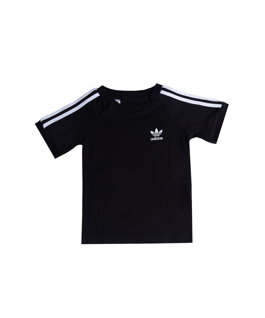 Image for Boy's adidas Originals Infant California T-Shirt in Black