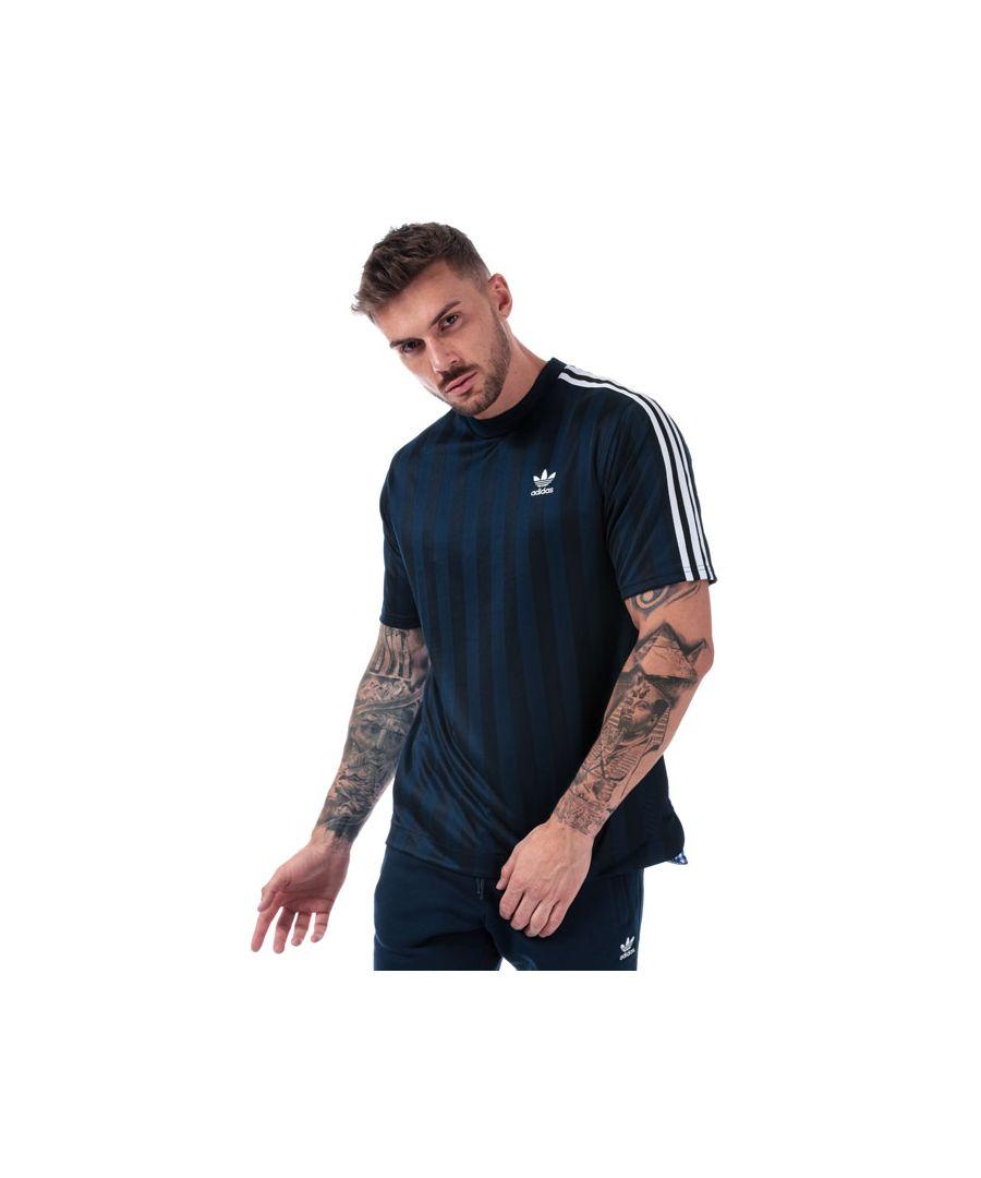 Image for Men's adidas Originals B-Side Jersey T-Shirt in Navy