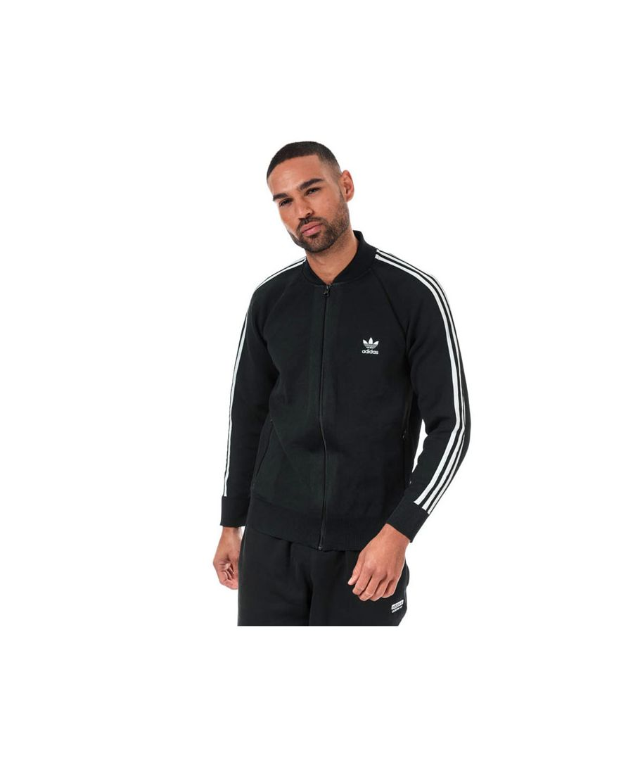 Image for Men's adidas Originals BF Knitted Track Top in Black