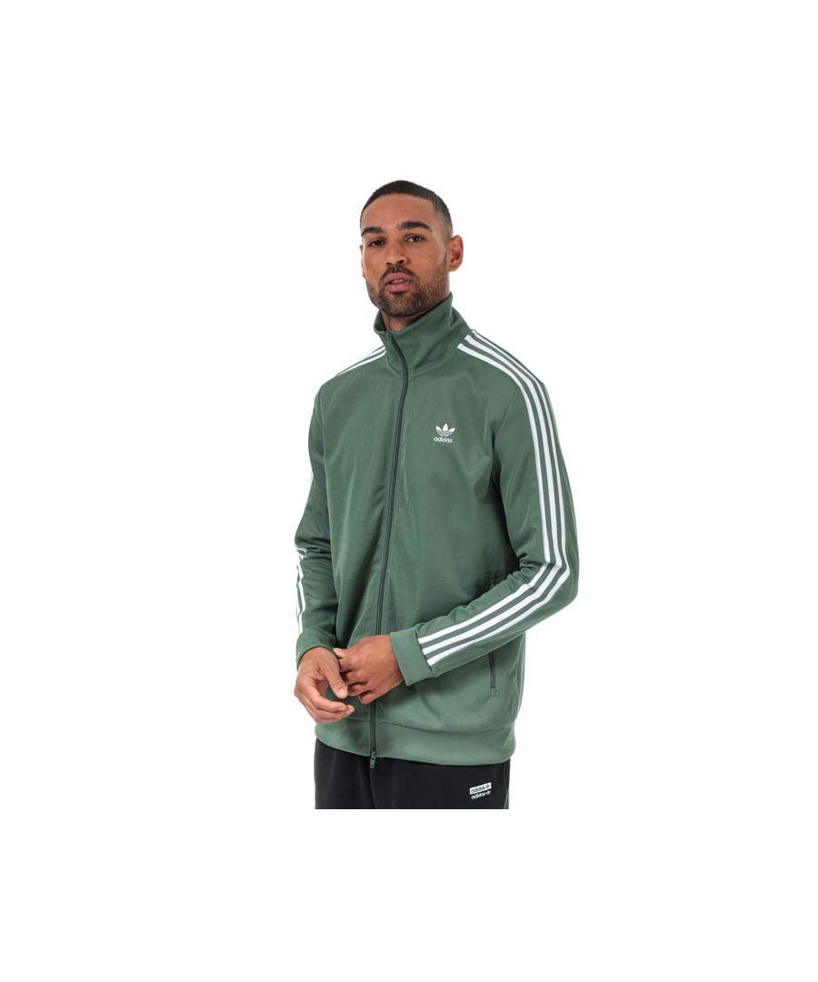 Image for Men's adidas Originals Beckenbauer Track Top in Green