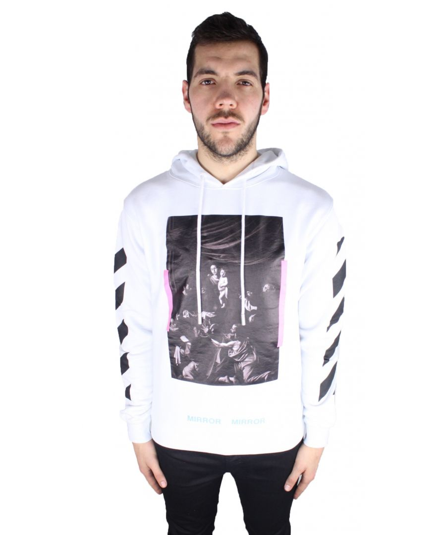 Image for Off-White Diag Caravaggio Hoodie OMBB003 S17192090 0188 Hoodie