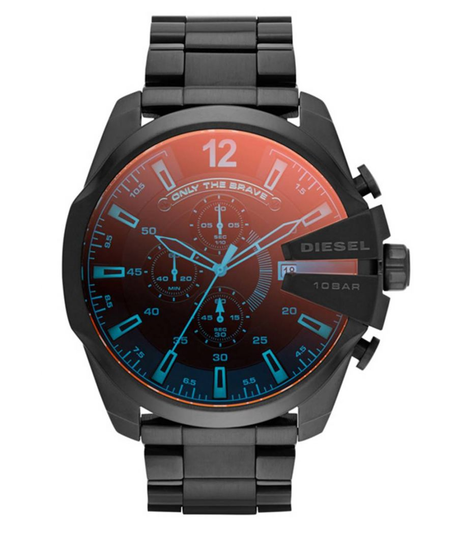Image for Diesel Men's Mega Chief Chronograph Watch DZ4318
