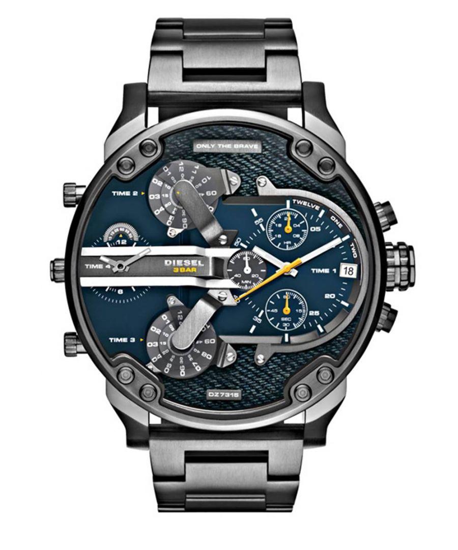 Image for Diesel Men's Daddy 2.0 Chronograph Watch DZ7331