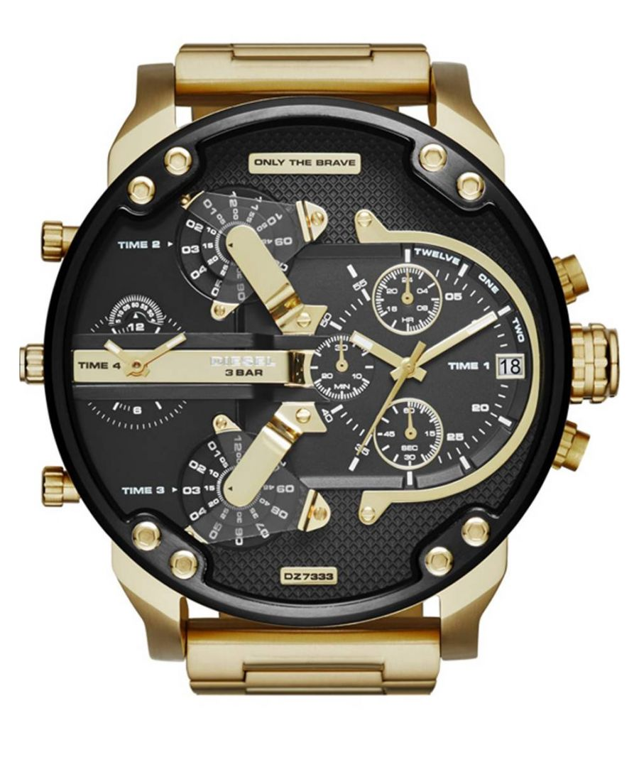Image for Diesel Men's Daddy 2.0 Chronograph Watch DZ7333