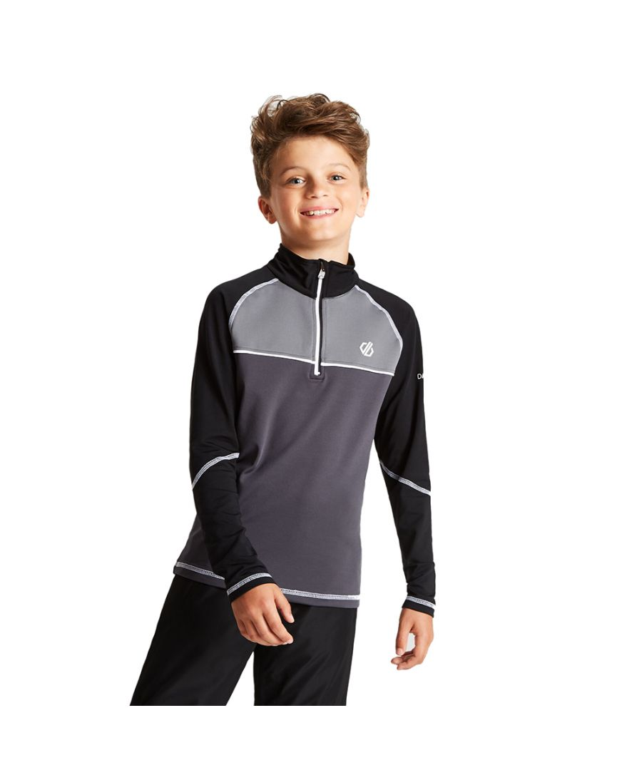 Image for Dare 2b Boys Formate Core Stretch Half Zip Top Jacket