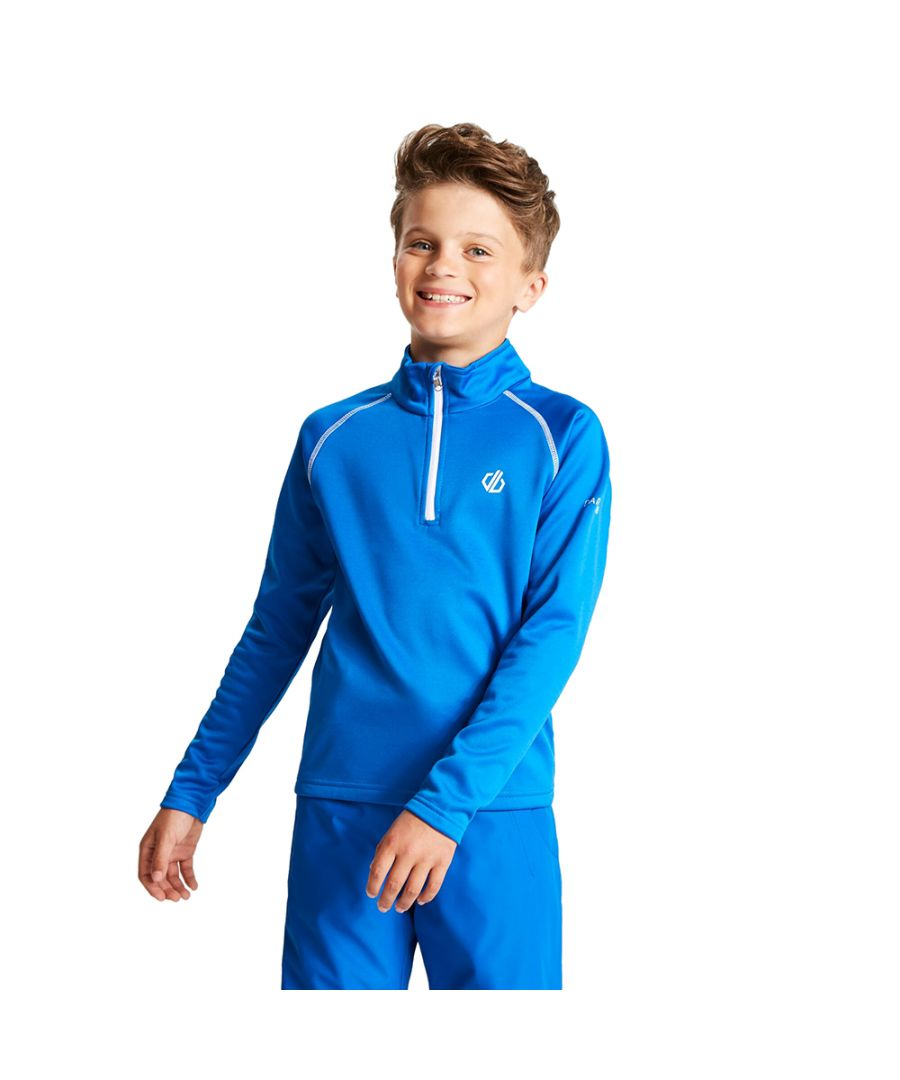 Image for Dare 2b Boys Consist Core Stretch Half Zip Top Jacket