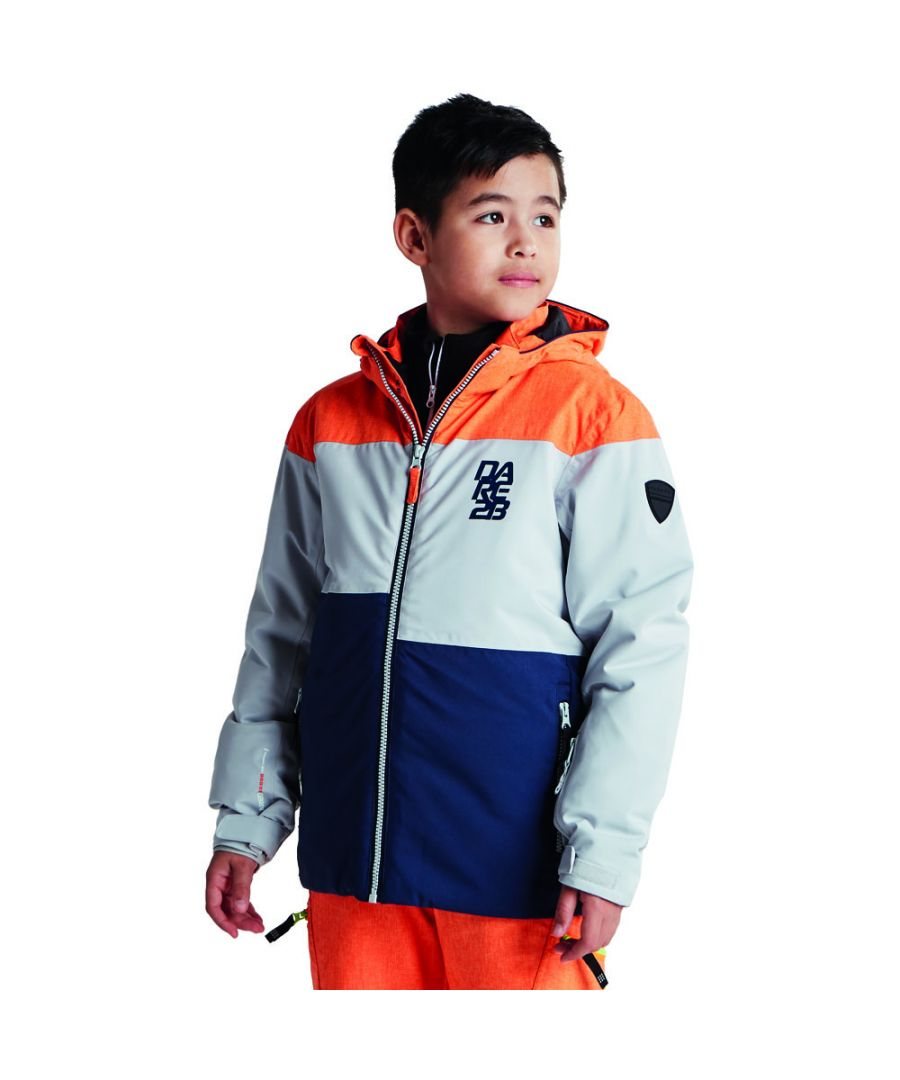 Image for Dare 2b Boys Roamer Waterproof Breathable Hooded Skiing Coat