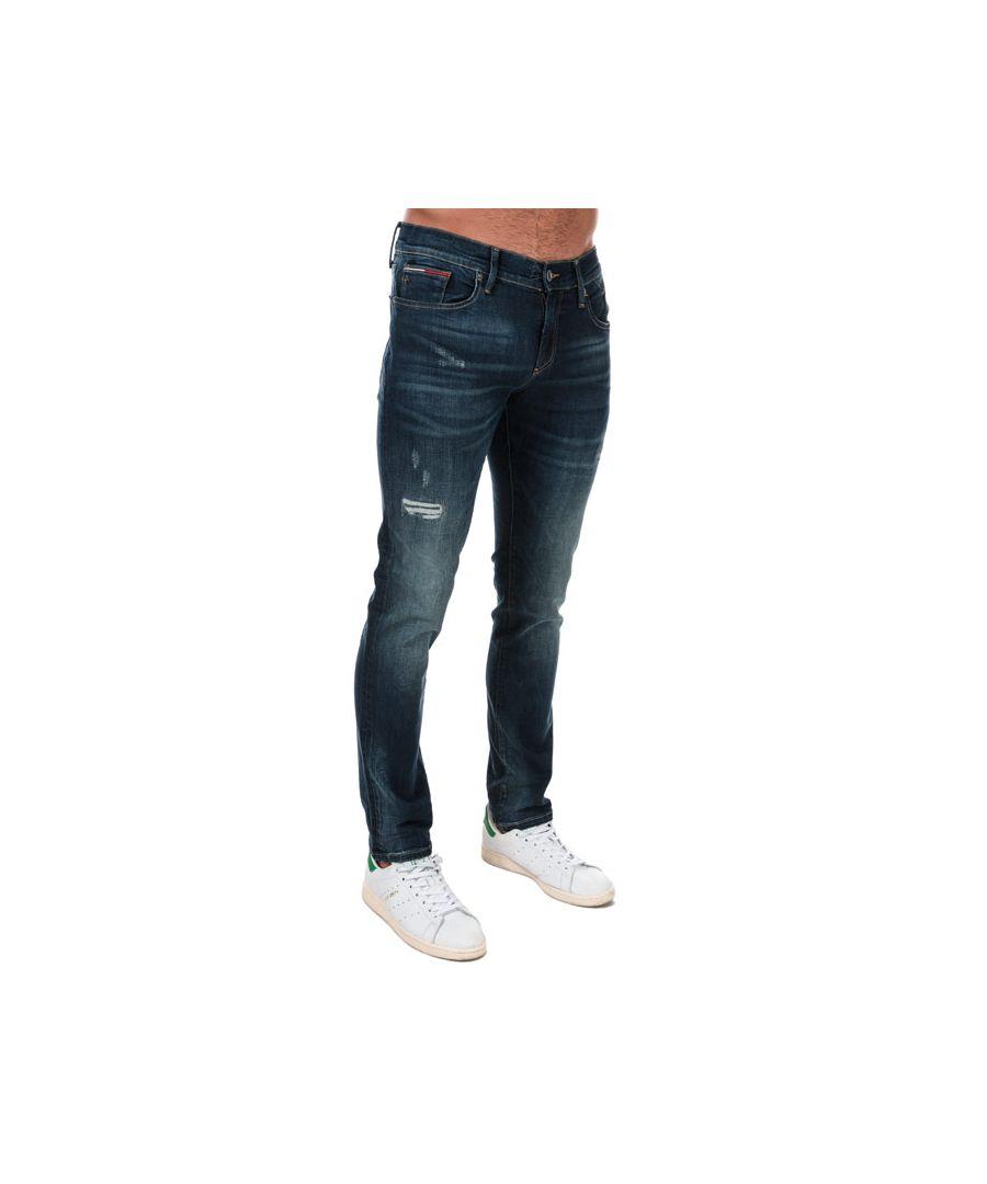 Image for Tommy Hilfiger Men's Slim Scanton Jeans in Denim