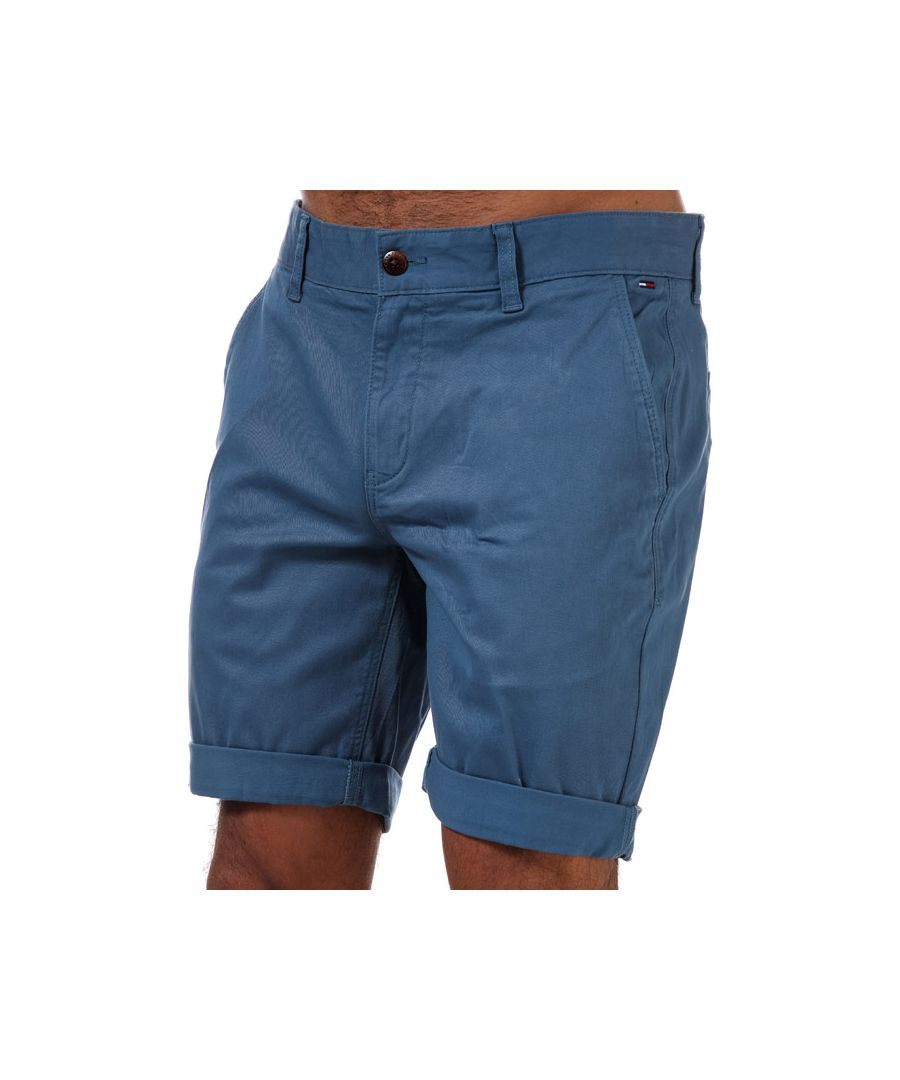 Image for Tommy Hilfiger Men's Scanton Chino Shorts in Blue