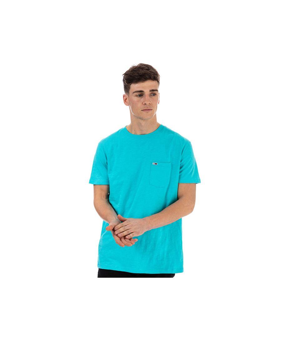 Image for Men's Tommy Hilfiger Pocket T-Shirt in Blue