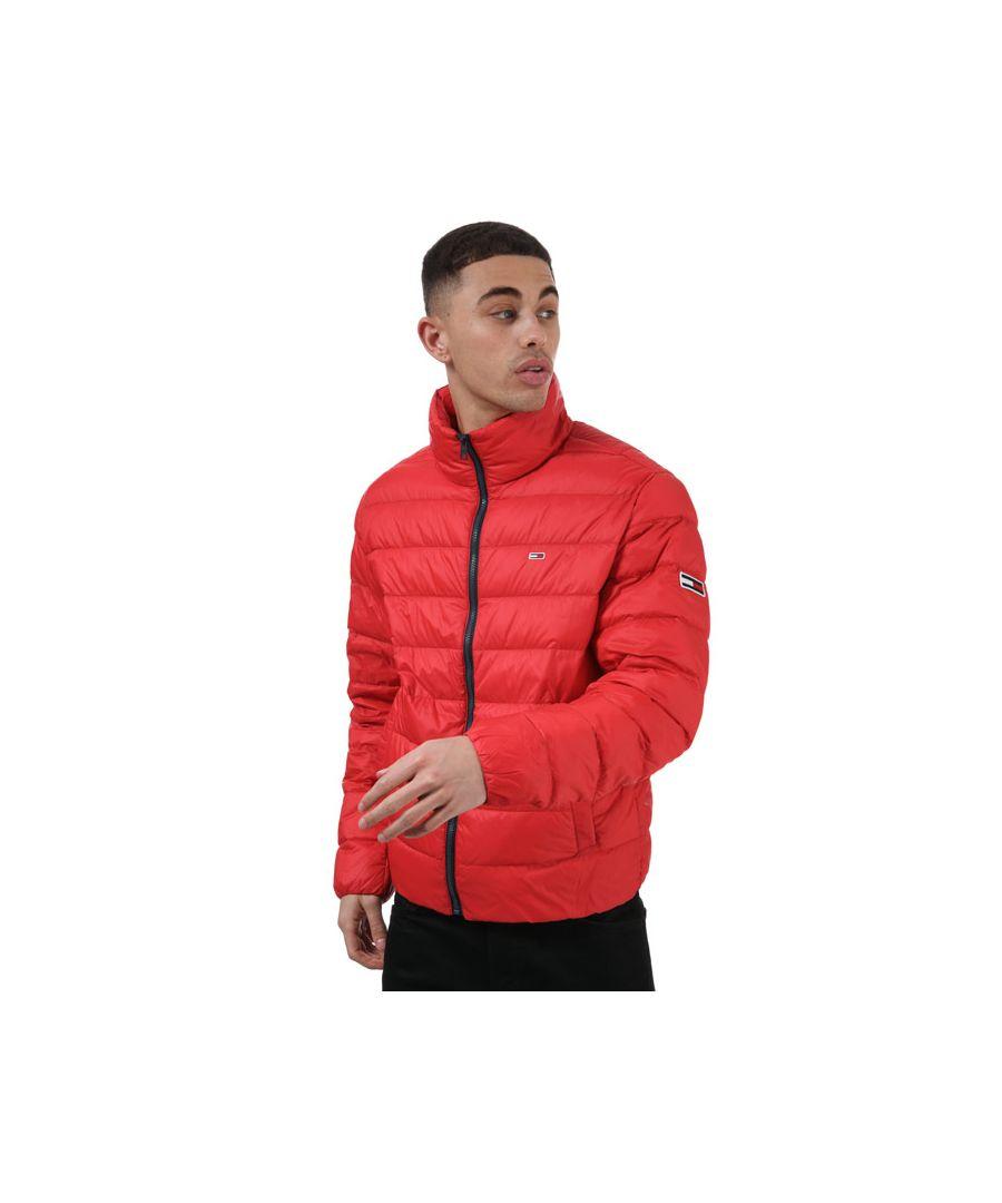 Image for Men's Tommy Hilfiger Packable Light Down Jacket in Red
