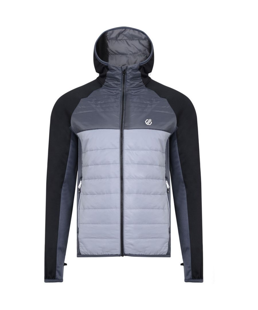 Image for Dare 2b Mens Coordinate Hybrid Warm Wicking Ripstop Jacket