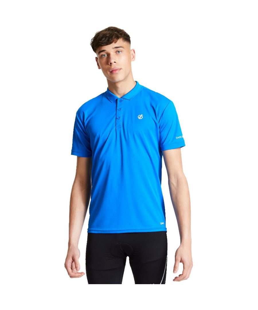 Image for Dare 2b Mens Delineate Wicking Short Sleeve Polo Shirt