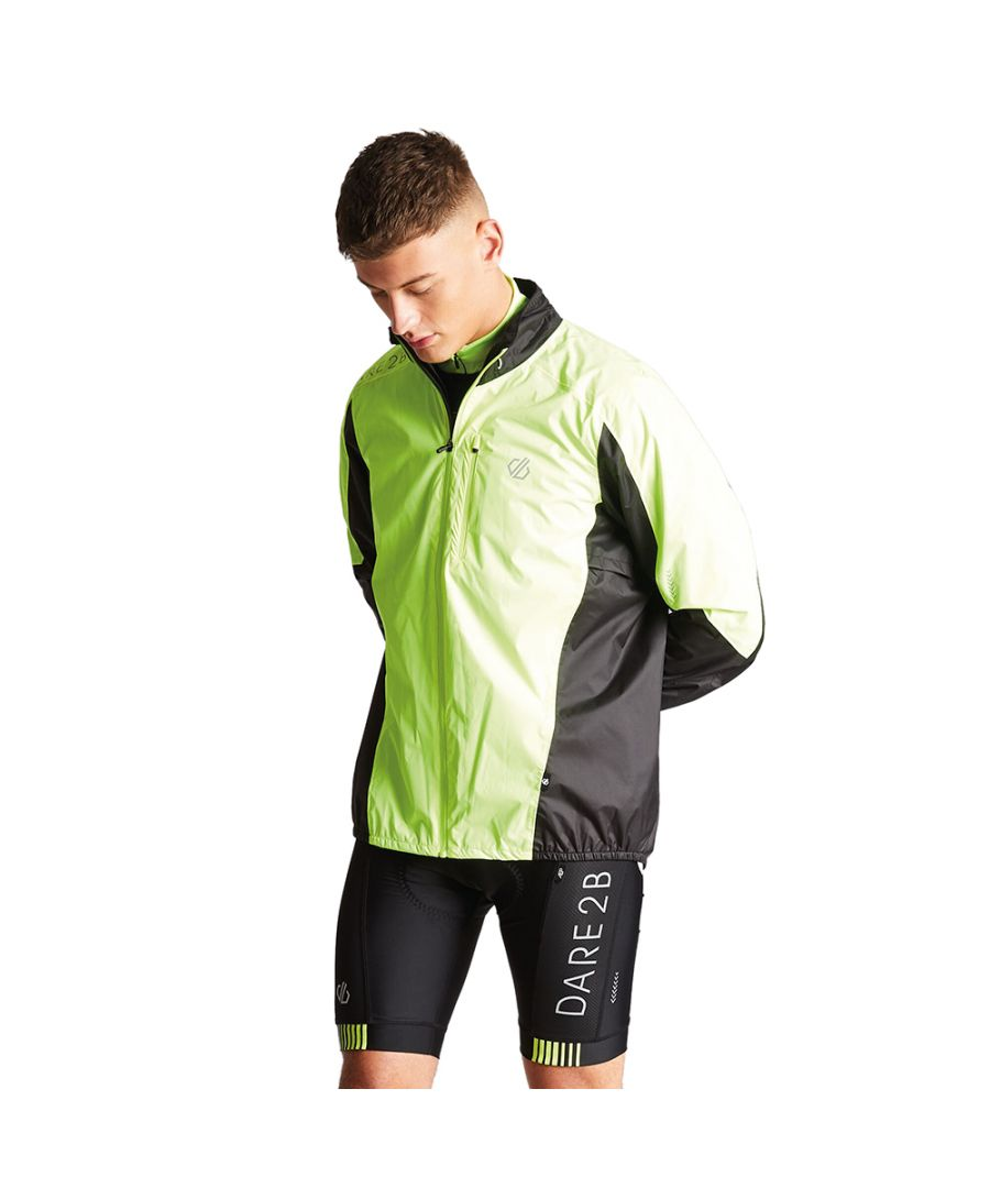 Image for Dare 2b Mens Mediant Reflective Waterproof Cycling Jacket
