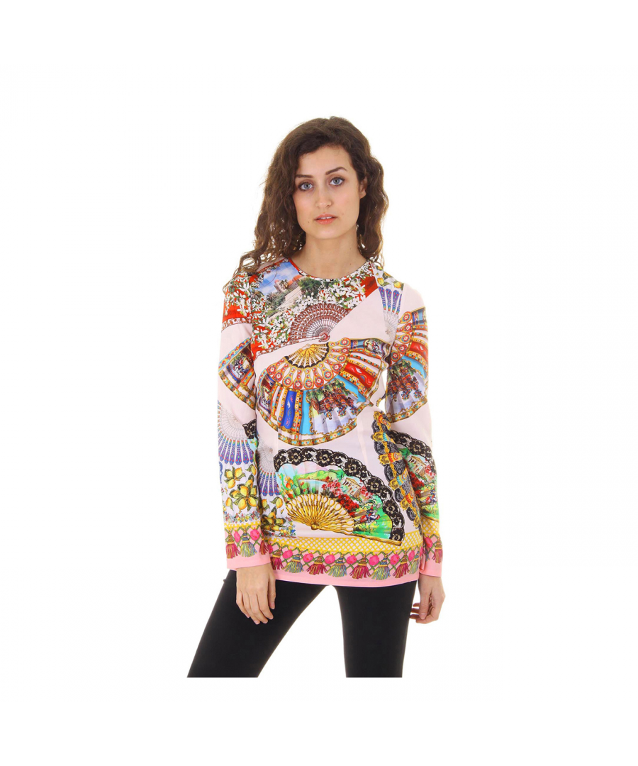 Image for Dolce & Gabbana ladies top long sleeve F7M58T FPAGZ X0800