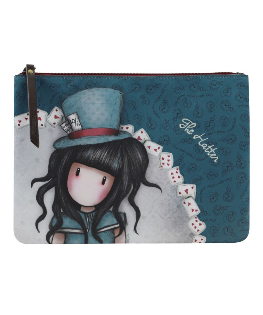 Image for Double Pouch Cross Body Bag - The Hatter