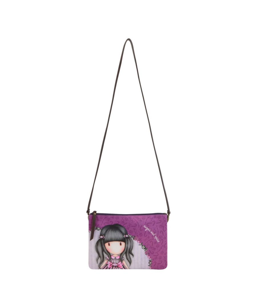 Image for Double Pouch Cross Body Bag - Sugar and Spice