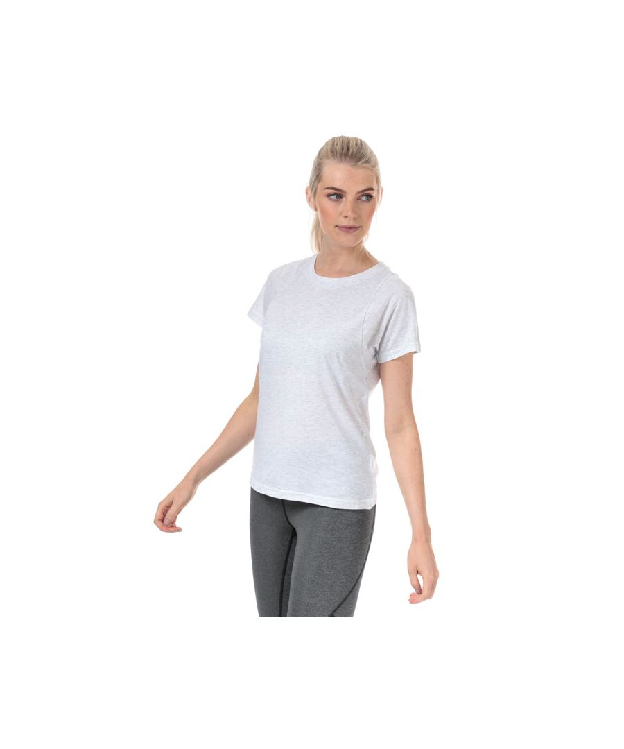 Image for Women's adidas ID Winners Crew Neck T-Shirt in White marl
