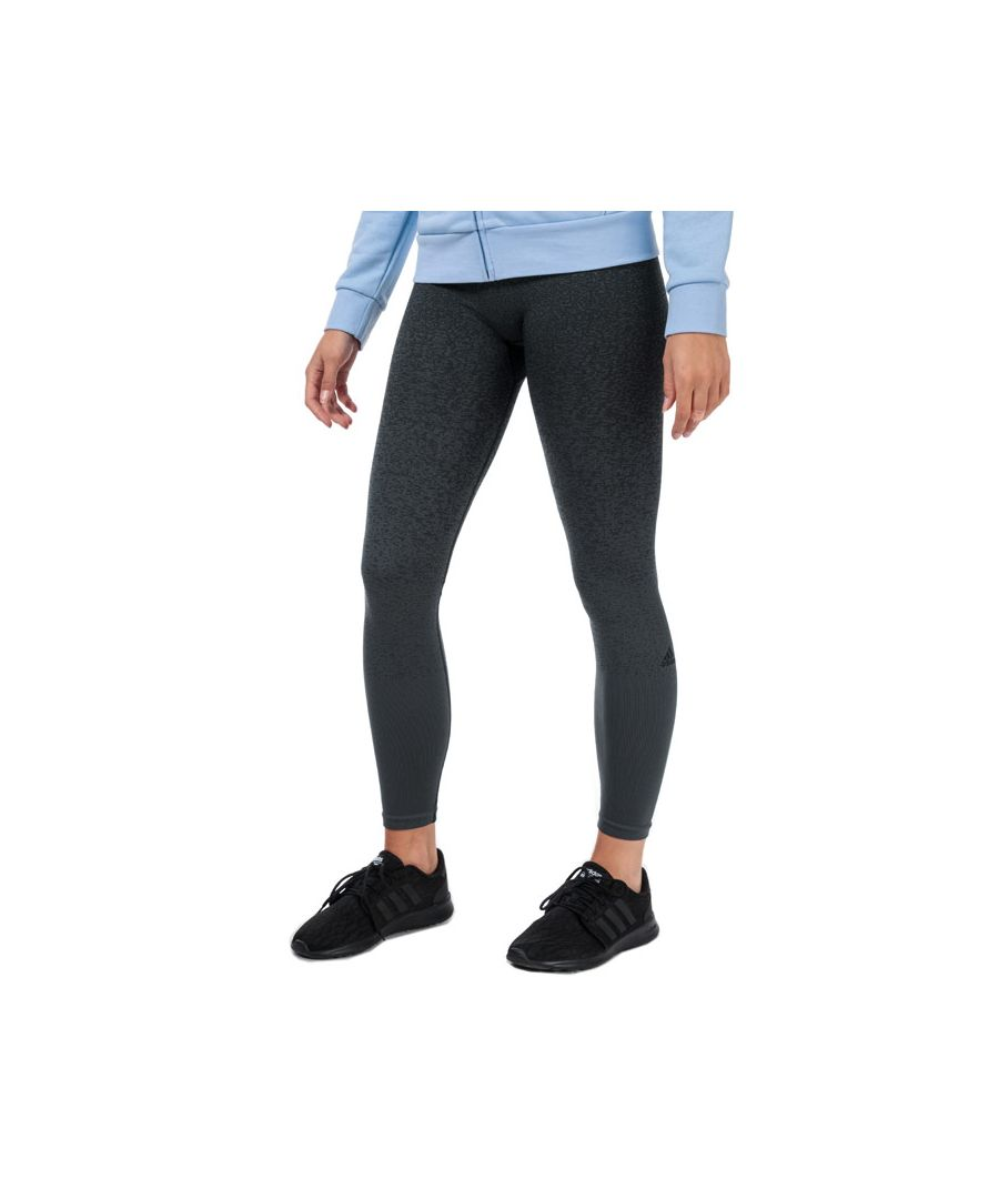 Image for Women's adidas Believe This Primeknit FLW Tights in Black Grey