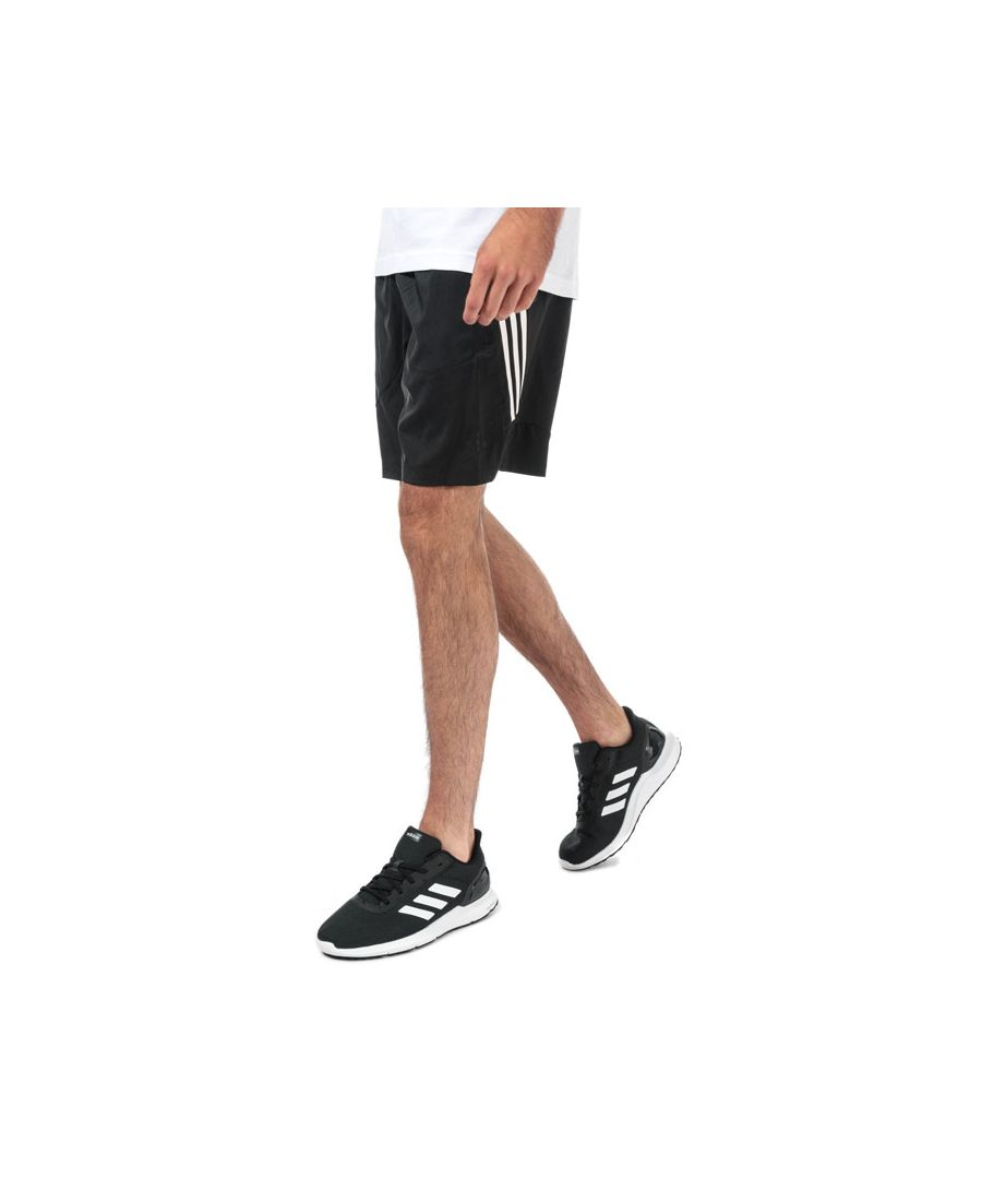 Image for Men's adidas 4KRFT Tech 3-Stripes Shorts in Black