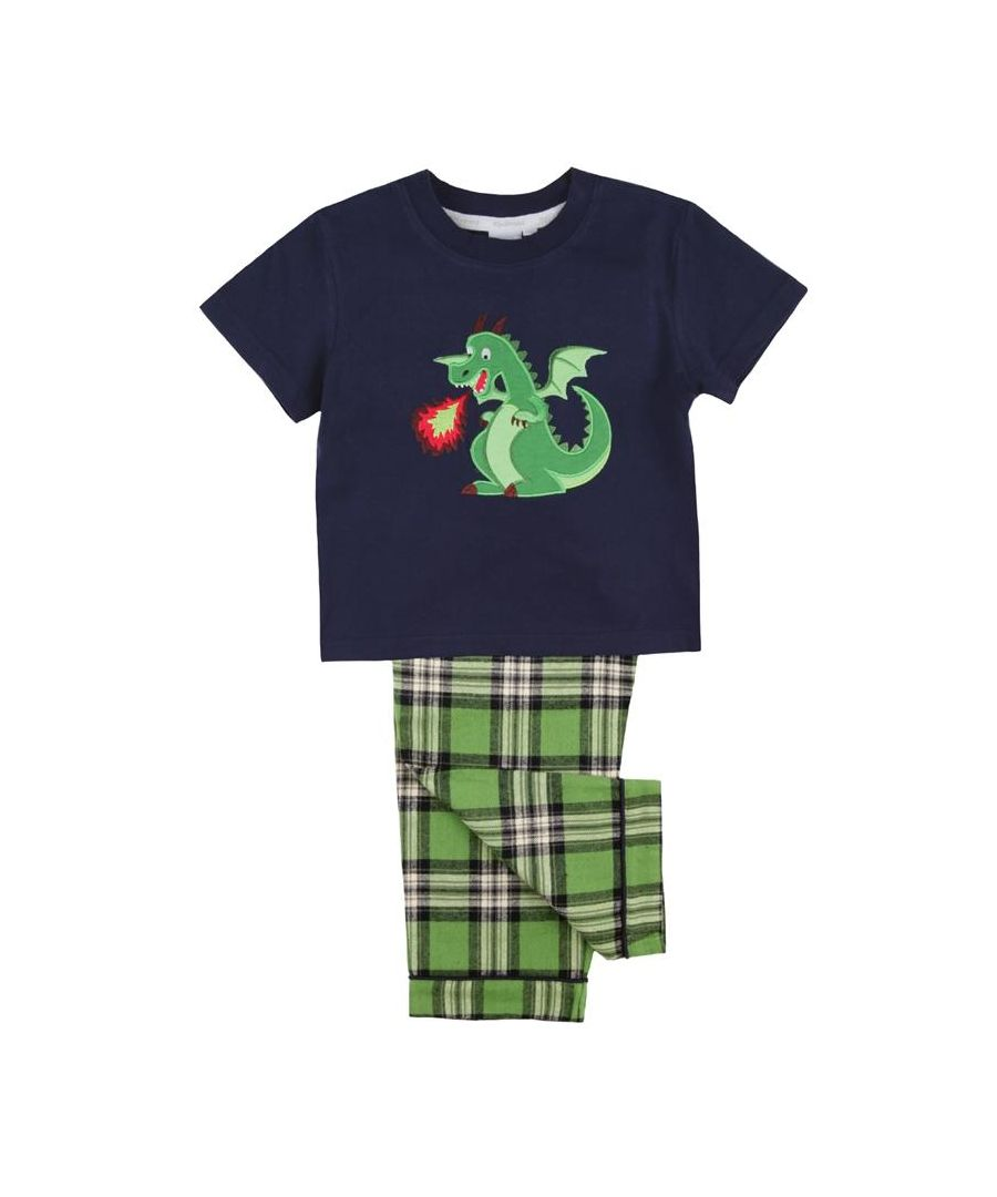 Image for Dragon Pyjama Set for Boys
