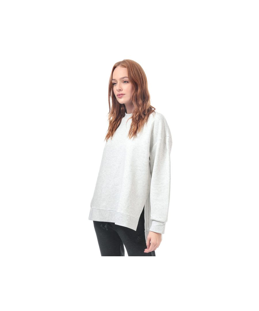 Image for Women's adidas Wanderlust Second Layer Sweatshirt in White marl