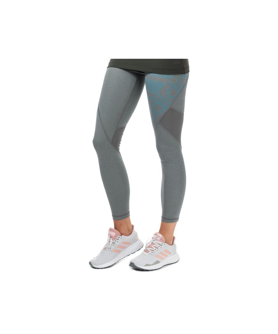 Image for Women's adidas Alphaskin Sport Long Tights in Grey