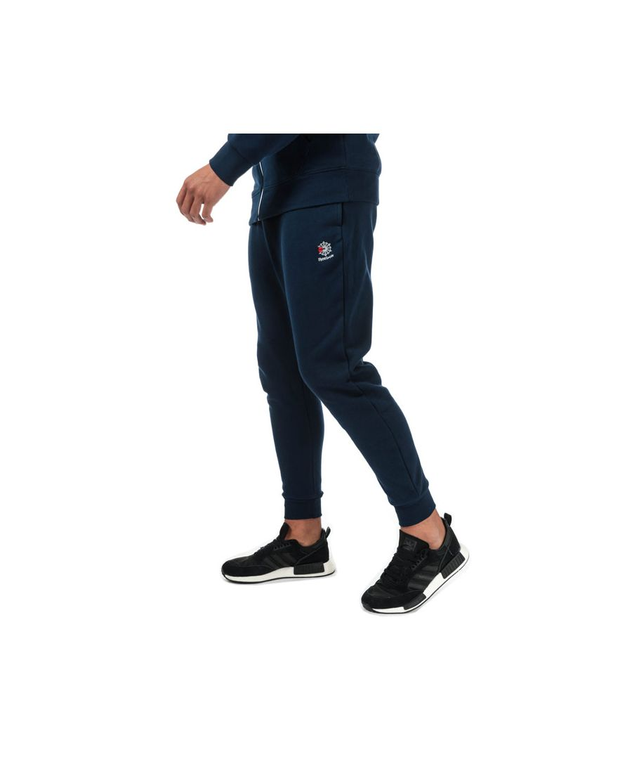 Image for Men's Reebok Classics Classics Fleece Jog Pants in Navy