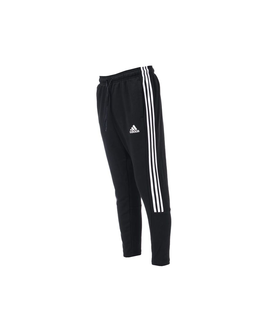 Image for Men's adidas Must Have 3 Stripe Tri Pants in Black-White
