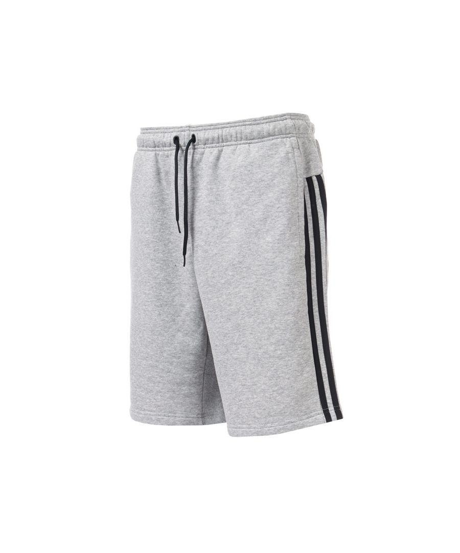 Image for Men's adidas Must Have 3 Stripe French Terry Shorts in Grey